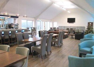 Kingslakes Clubhouse Lounge Area